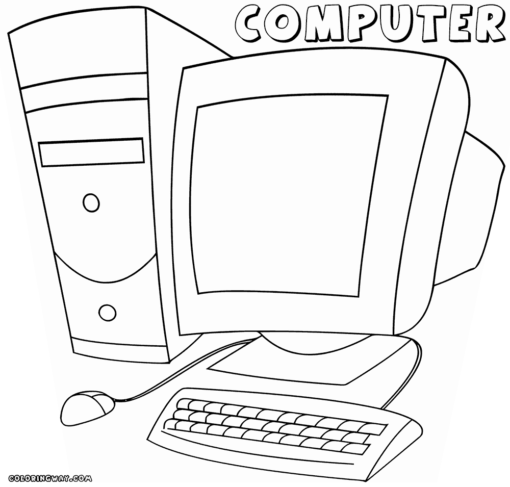 27 Computer Coloring Pages Collections | FREE COLORING PAGES - Part 2