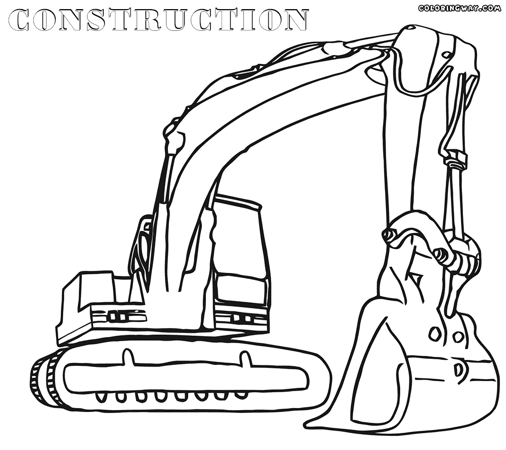 construction coloring pages - house construction coloring pages printable sketch templates