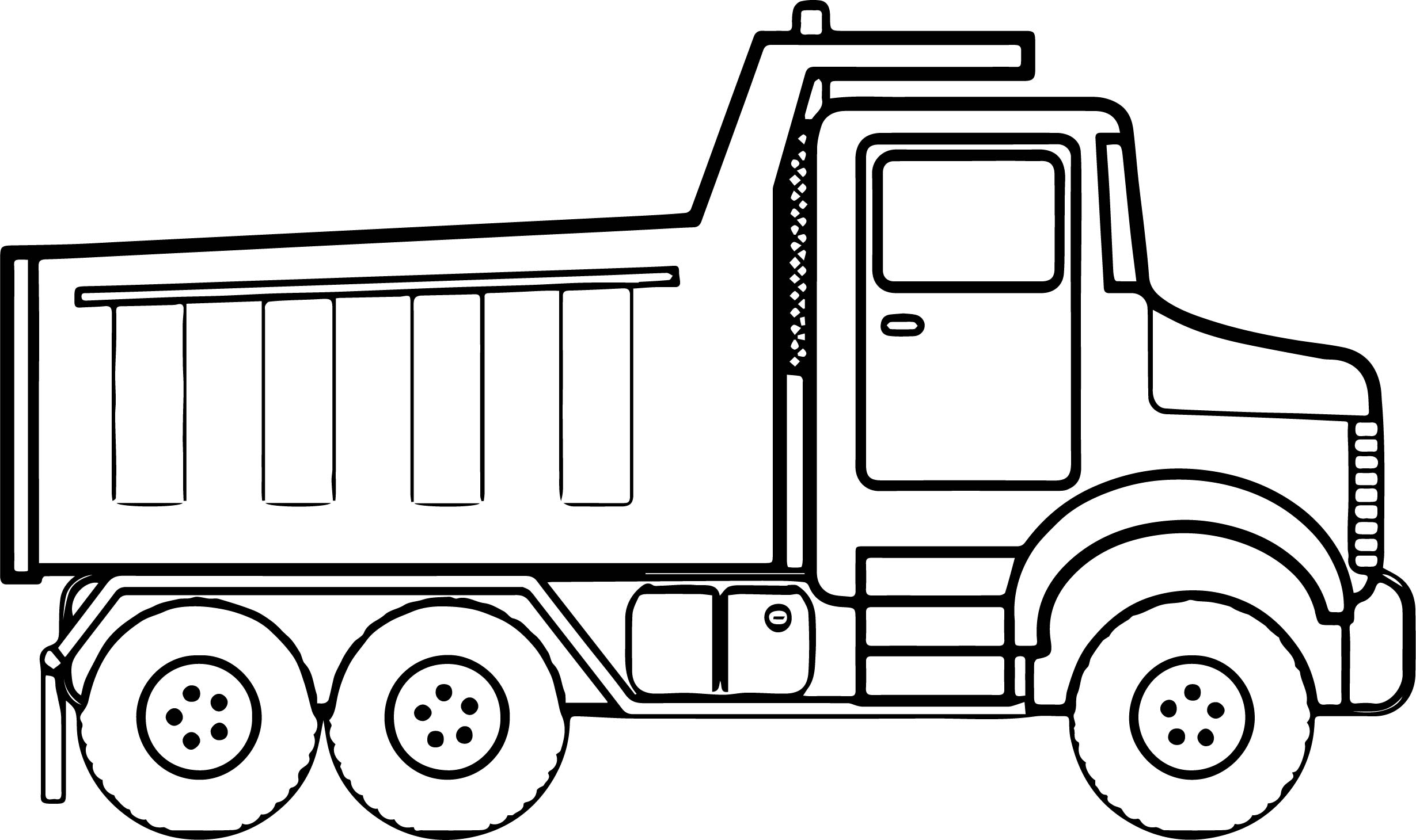 construction truck coloring pages - construction truck coloring page