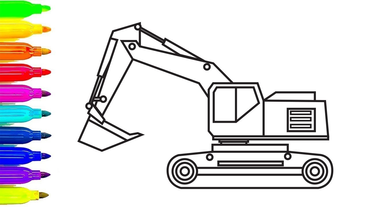 construction truck coloring pages - watch v=aiydRDJutJg&feature=share