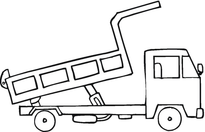 Construction Truck Coloring Pages - Free Construction Coloring Pages