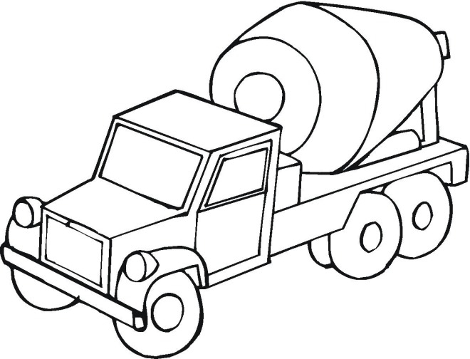 construction truck coloring pages - construction2tml