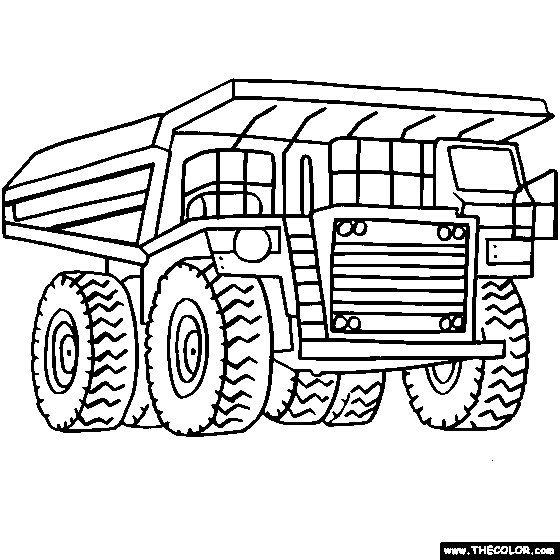 construction truck coloring pages - construction truck coloring pages