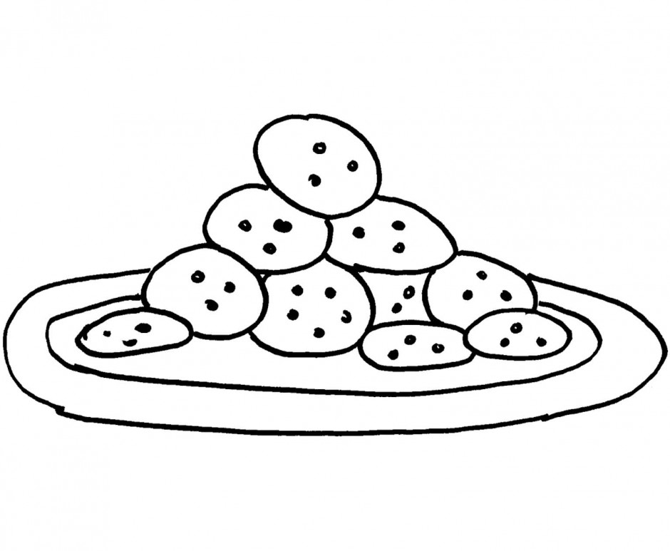 cookie coloring pages - shopkin cookie