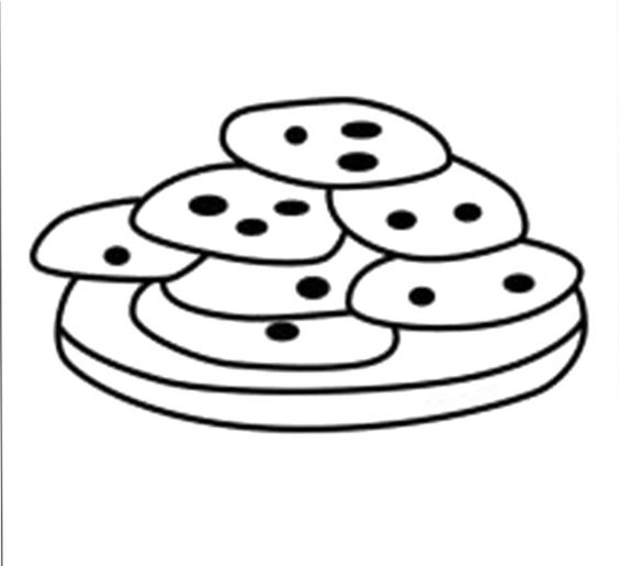 cookie coloring pages -