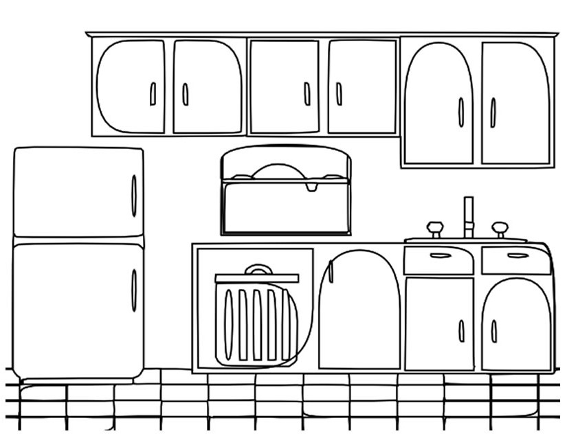 cooking coloring pages - 5
