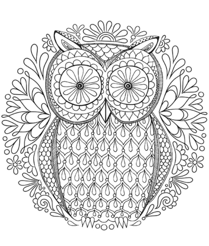 cool coloring pages for adults - cool owl coloring pages printable kids colouring pages cool coloring pages for adults awesome printable coloring pages for adults