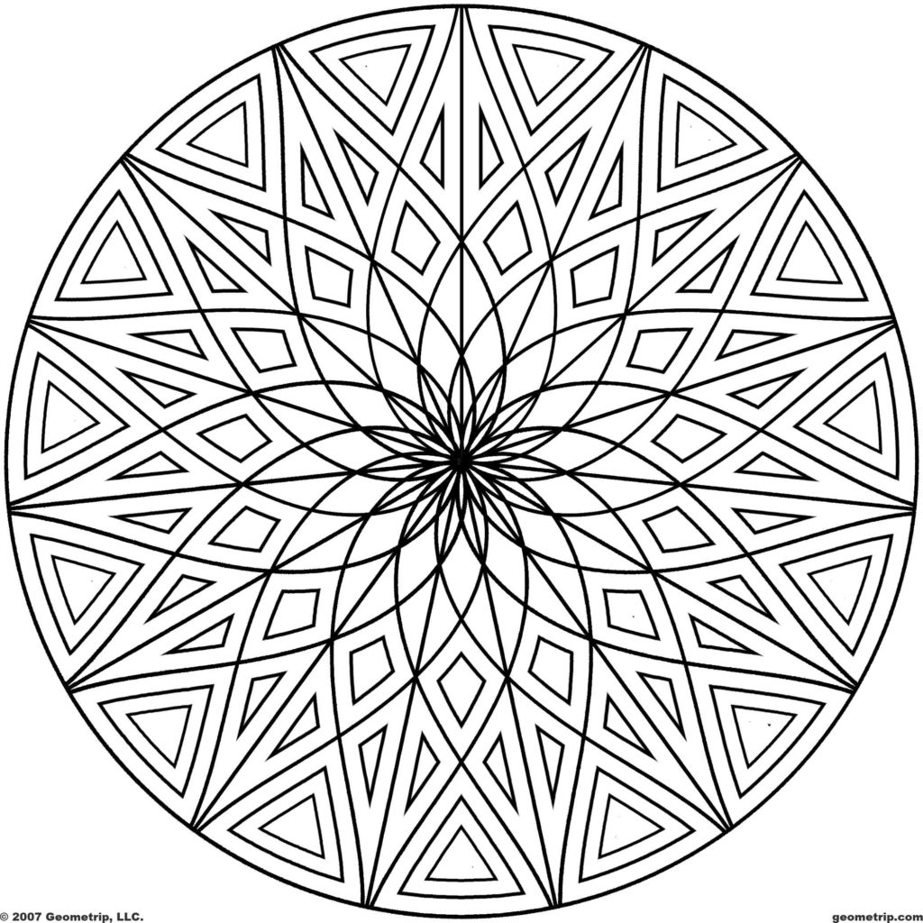 cool coloring pages to print - cool coloring pages to print cool geometric designs coloring page