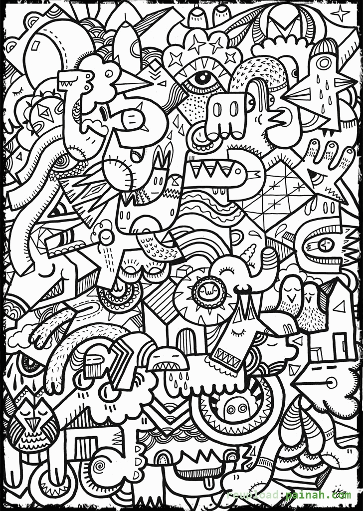 cool coloring pages to print - cool coloring pages for teenagers to print