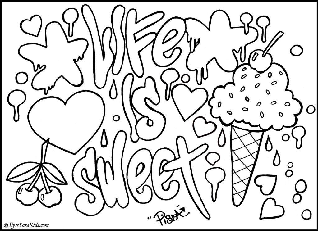 Cool Coloring Pages to Print - Cool Designs Coloring Pages Coloring Home