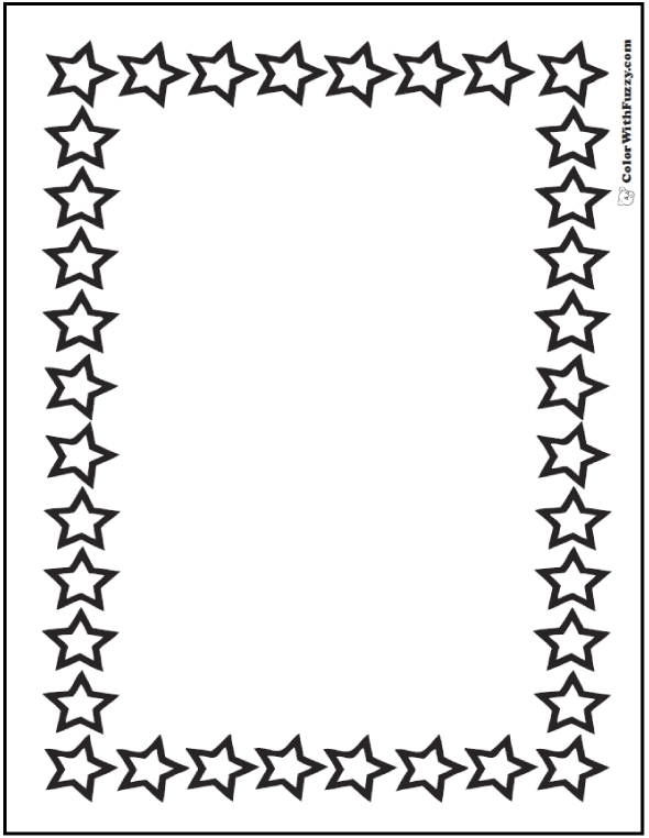 cool design coloring pages - star coloring pages