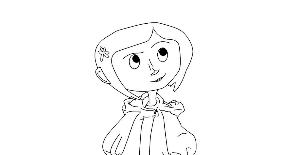 Coraline Coloring Pages - Coraline Coloring Pages Two New Free Coraline Coloring Page
