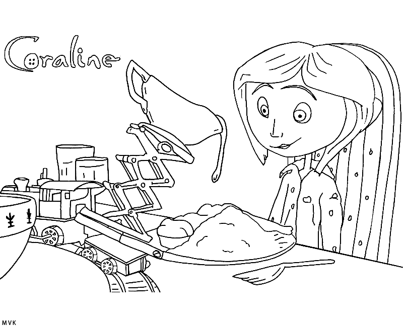 coraline coloring pages - coraline printable coloring pages