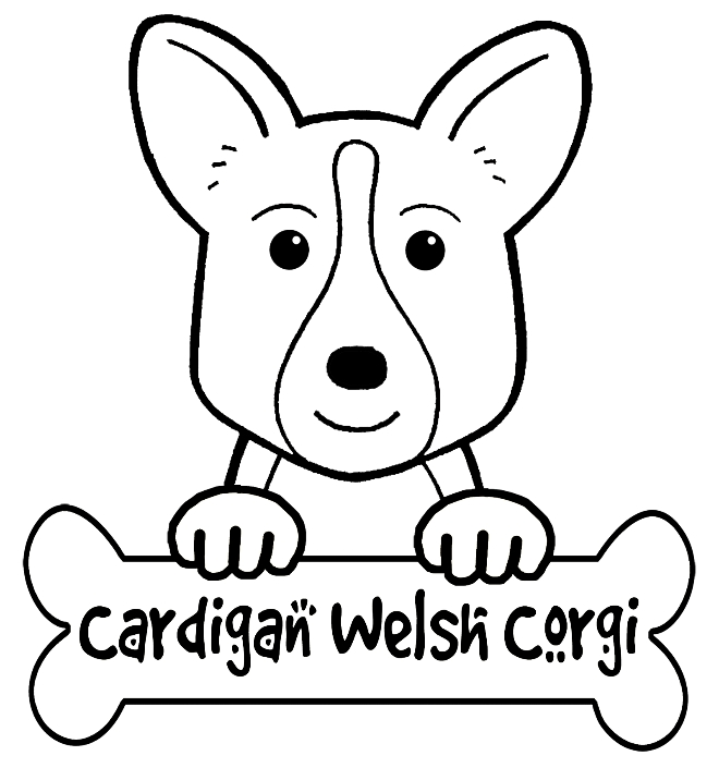 corgi coloring pages - q=corgi pictures