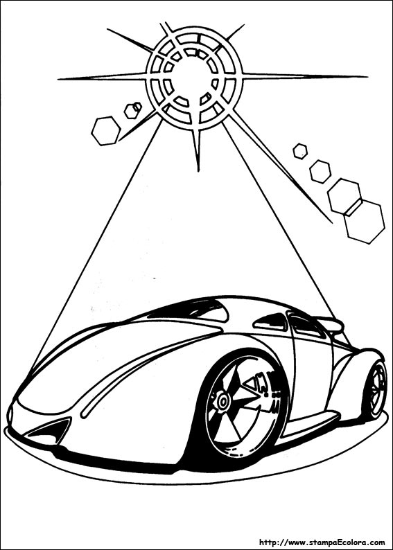 corvette coloring pages - disegni id=8105