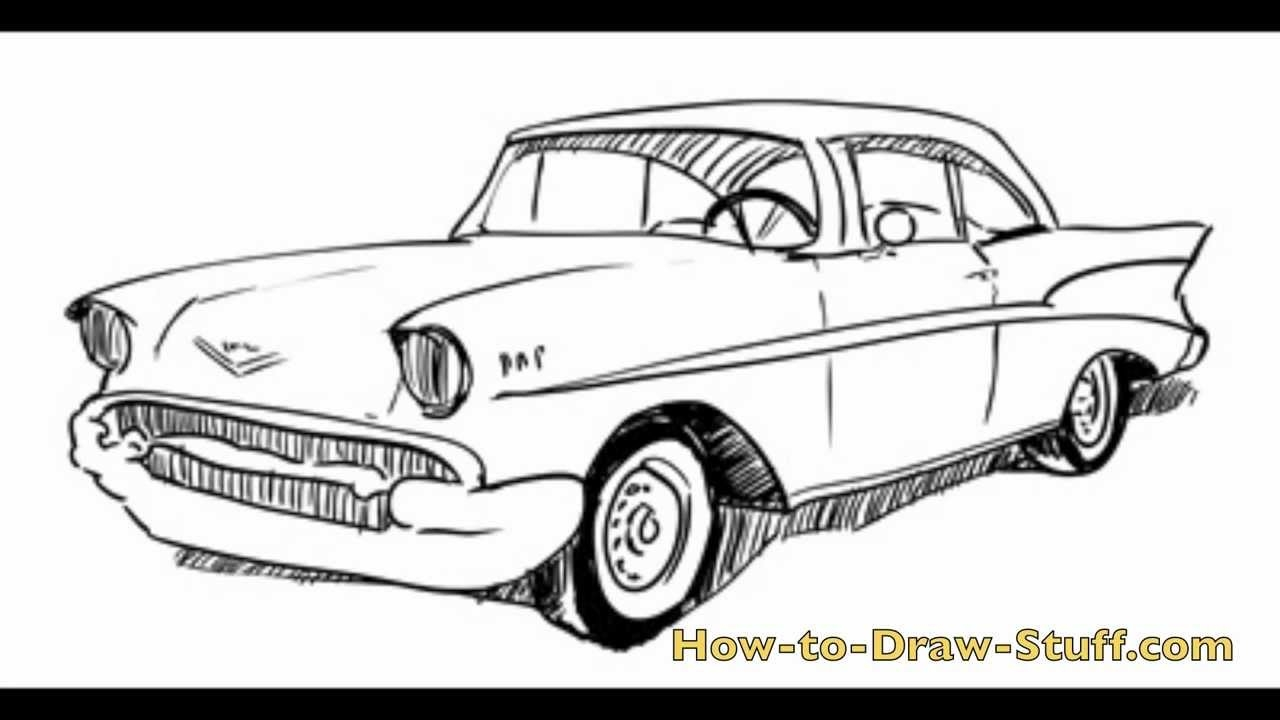 corvette coloring pages - watch v=KNzONuaM8xg