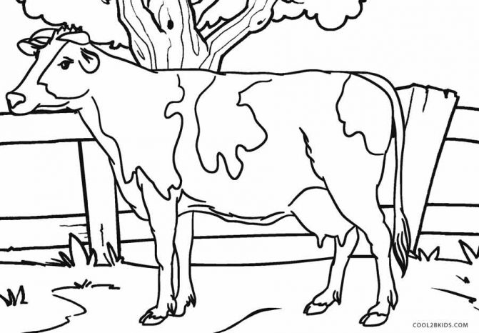 70 Free Cow Coloring Pages For Adults For Free