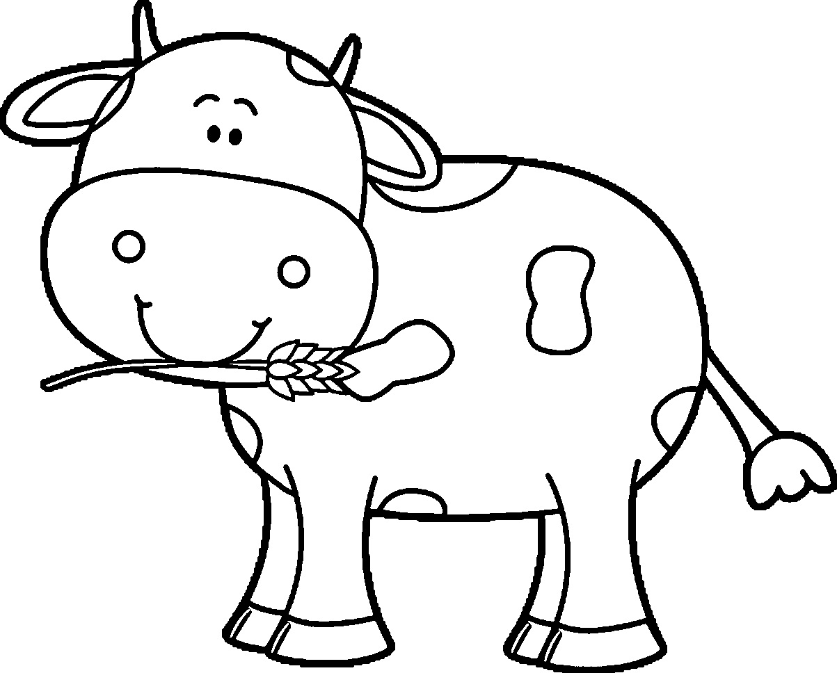 cow coloring pages - cow coloring pages for kids