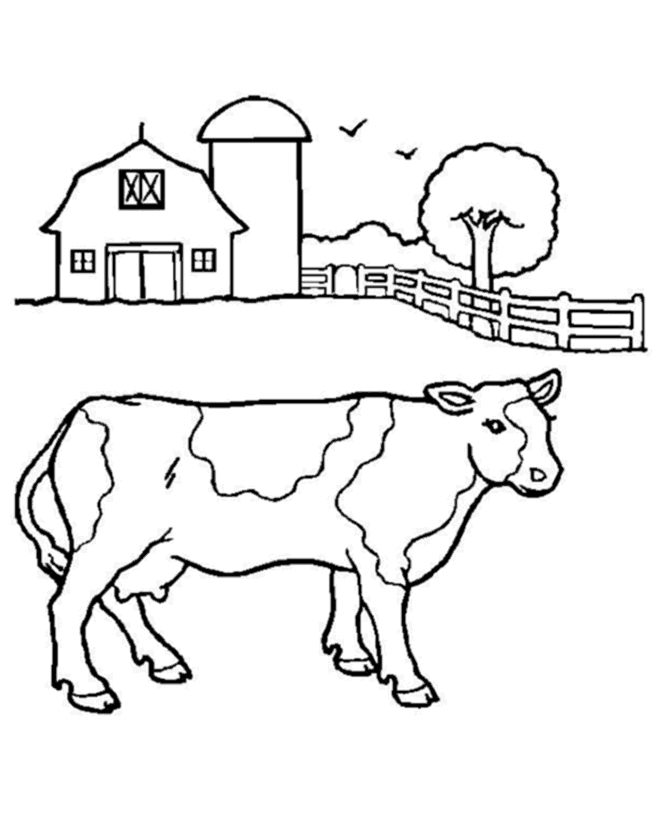 20 Cow Coloring Pages Printable Free Coloring Pages Part 2