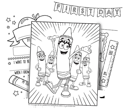 crayola coloring pages - free coloring pages