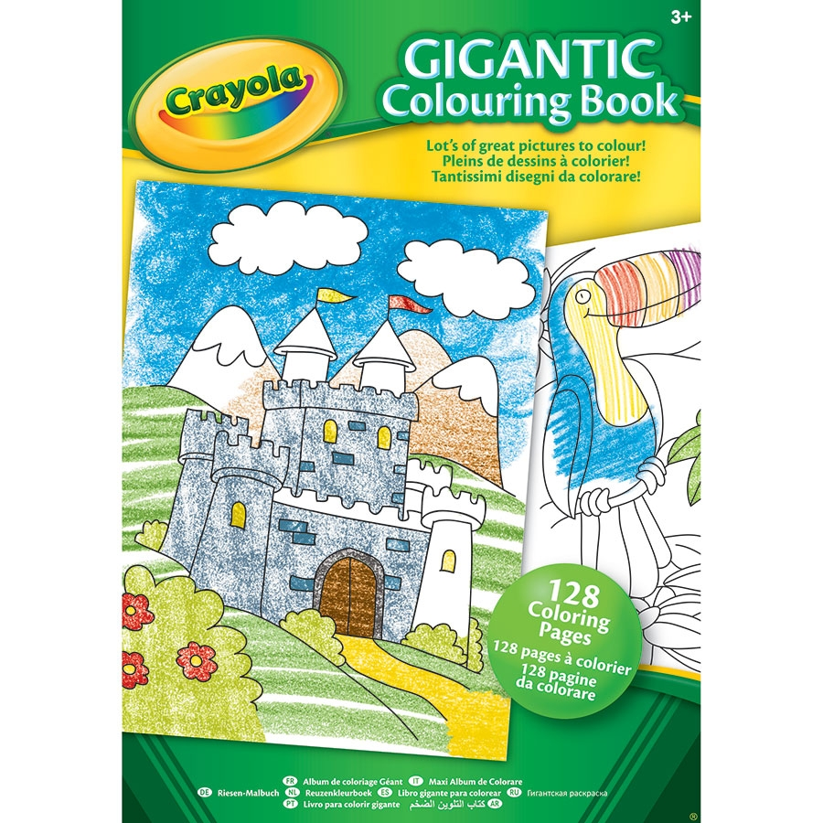 crayola giant coloring pages - crayola gigantic coloring book 128 page