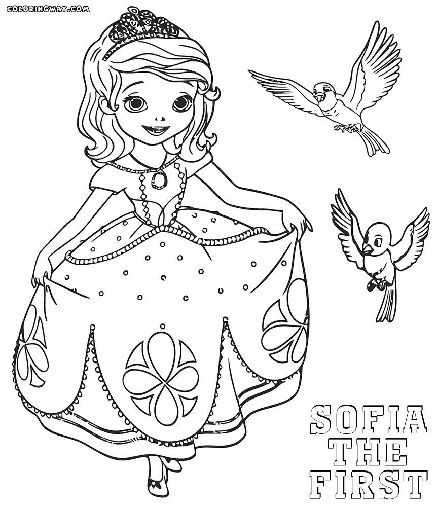 crayola giant coloring pages - sofia the first coloring pages sofia the first coloring pages amber sofia the first coloring drawing
