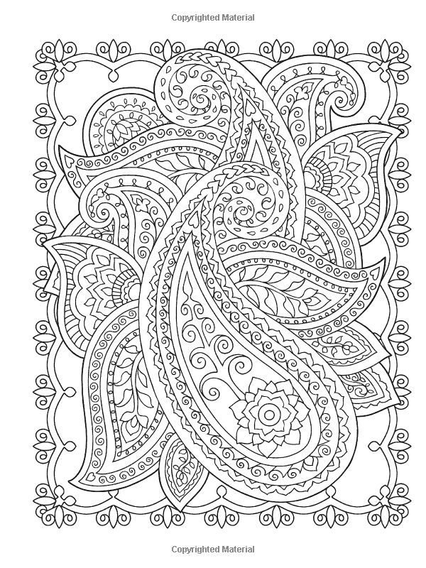 creative coloring pages - adult coloring pages