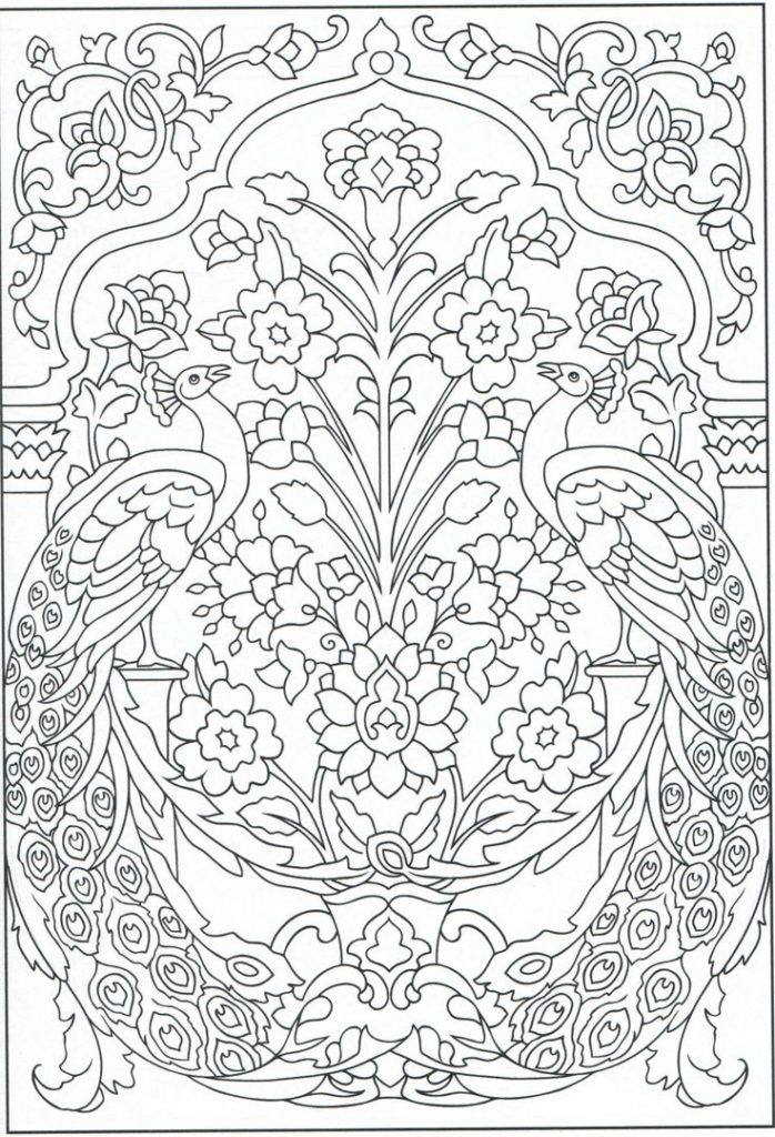 creative coloring pages - peacock coloring page for adults color pages creative coloring pages for adults creative haven coloring books for adults
