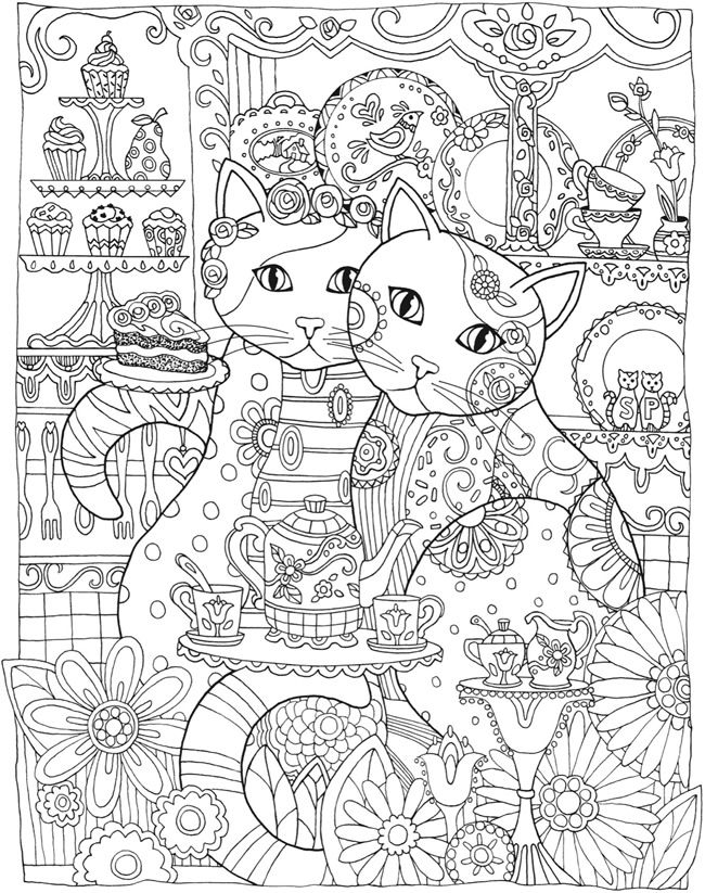 20 creative coloring pages printable