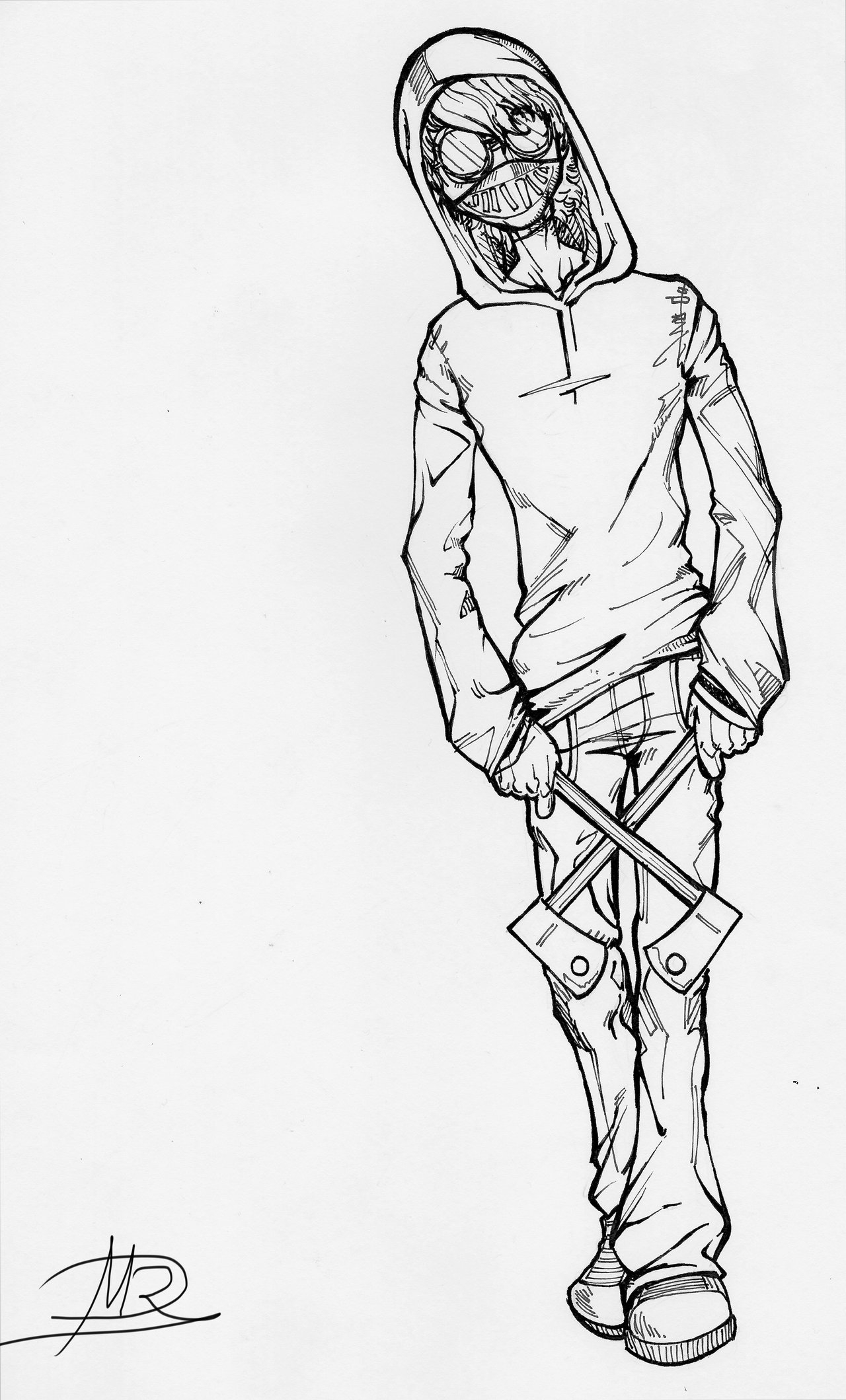Creepypasta Coloring Pages - Ticcy toby Creepypasta Fanart by Mard0018 On Deviantart