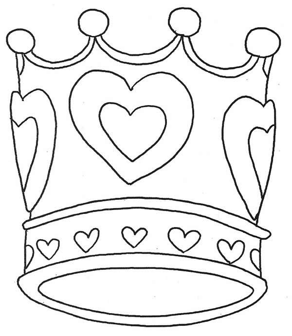 crown coloring page - 138