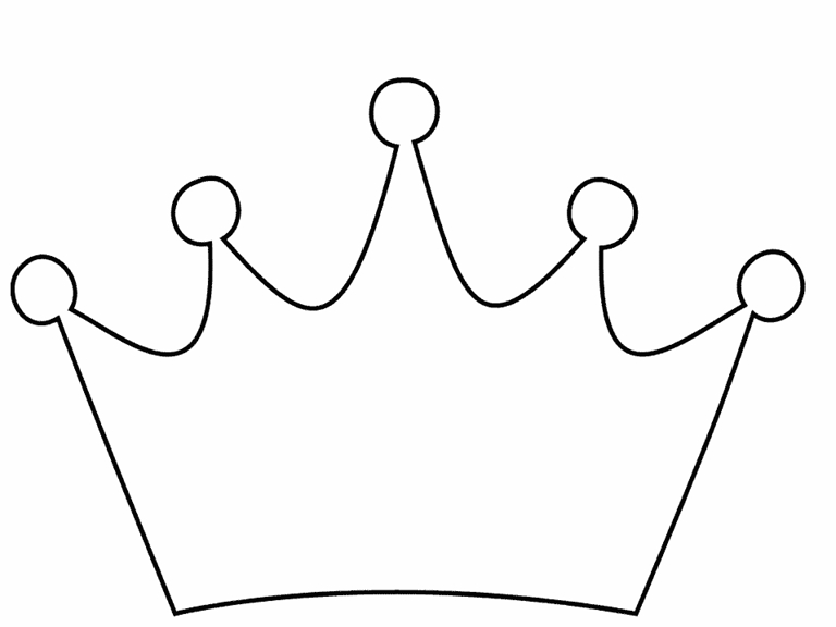 crown coloring page - kings crown coloring pages