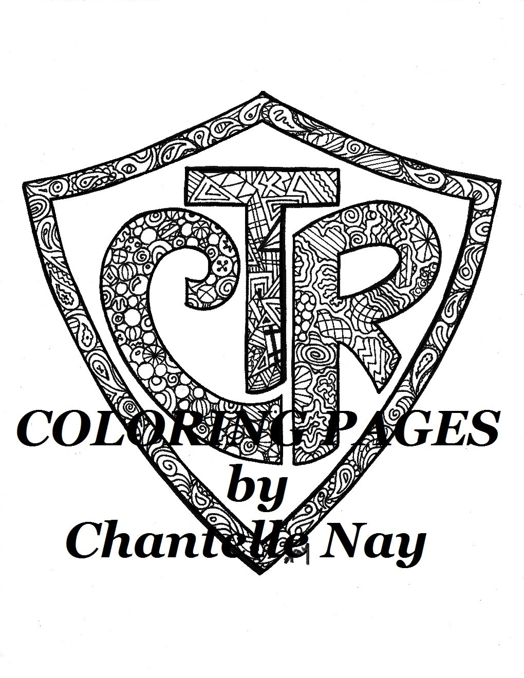ctr coloring page - coloring page ctr lds art adult coloring