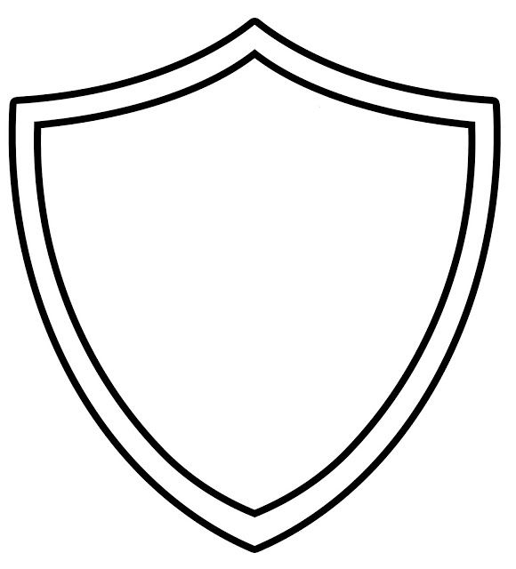 ctr coloring page - ctr shield coloring page