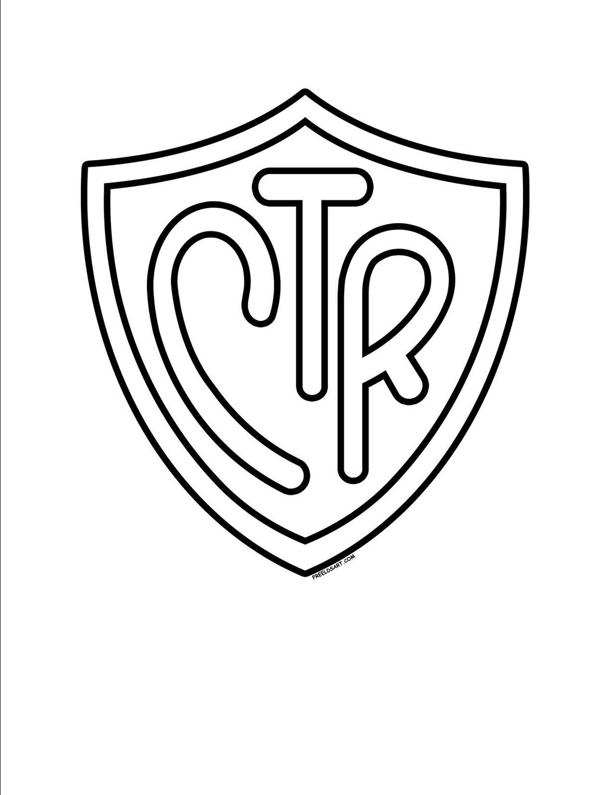 ctr shield coloring page - q=choose the right lds
