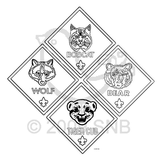 20 Cub Scout Coloring Pages Printable | FREE COLORING ...