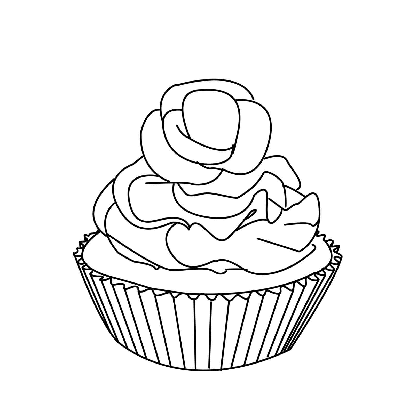 28 Cupcake Coloring Pages Selection | FREE COLORING PAGES - Part 3