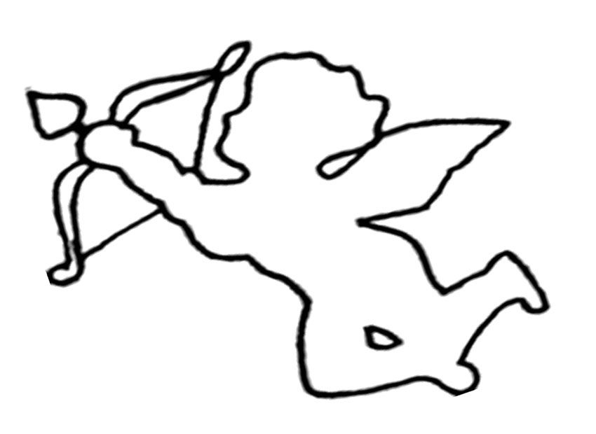 Cupid Coloring Pages - Cupid Coloring Page Coloring Home