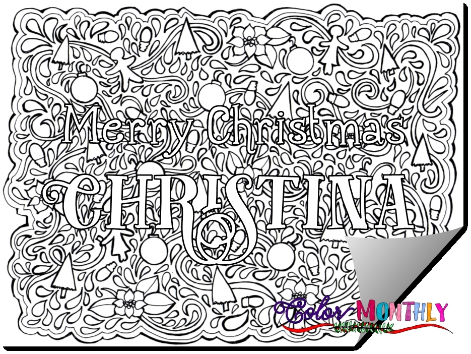 custom coloring pages - printable name project for awesome custom coloring pages
