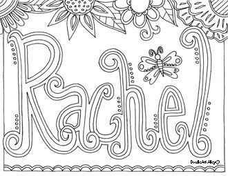 custom name coloring pages - name coloring pages