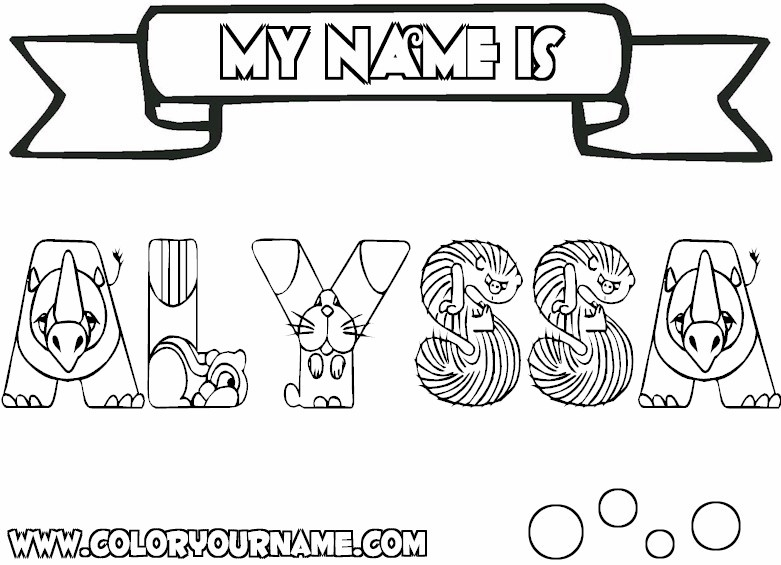 Custom Name Coloring Pages - Custom Made Name Coloring Pages Coloring Pages