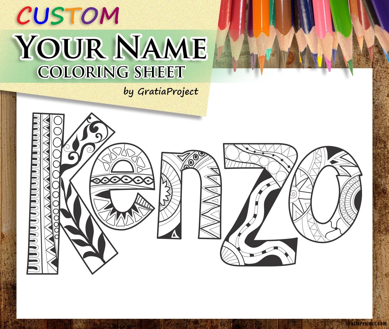 custom name coloring pages - printable coloring pages of your name