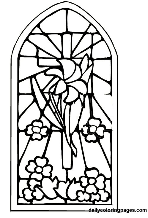 d coloring page -