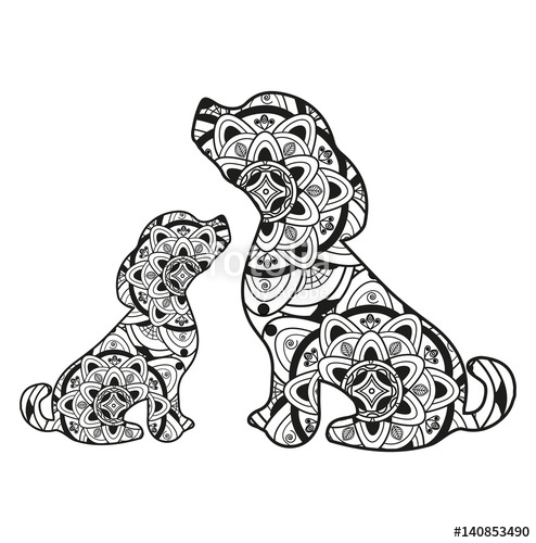 dachshund coloring pages -
