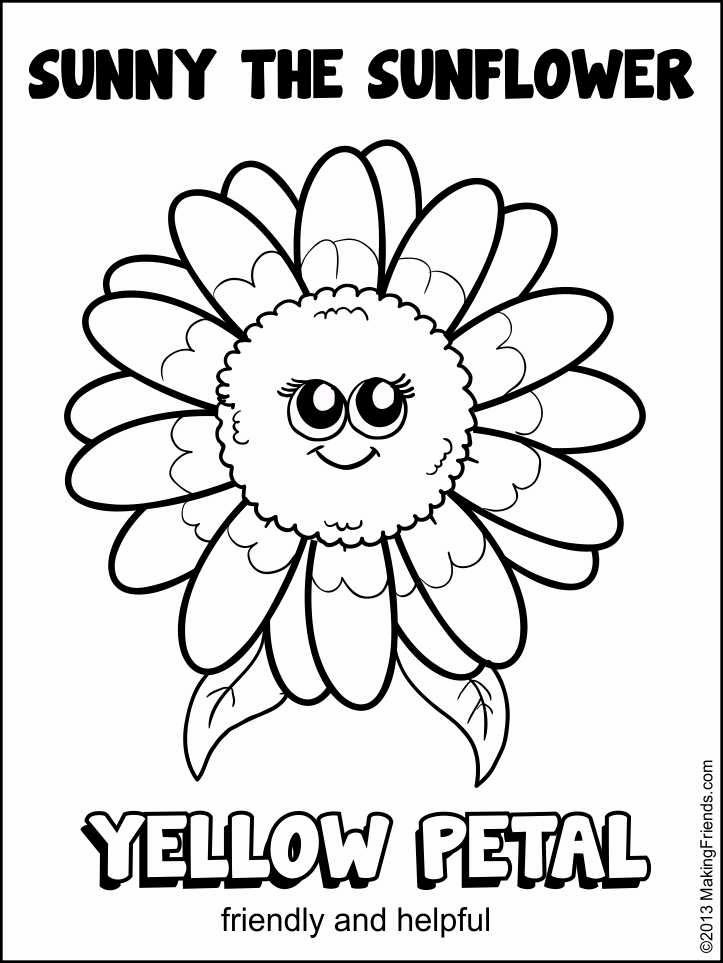 daisy girl scout coloring pages - r=daisy petals