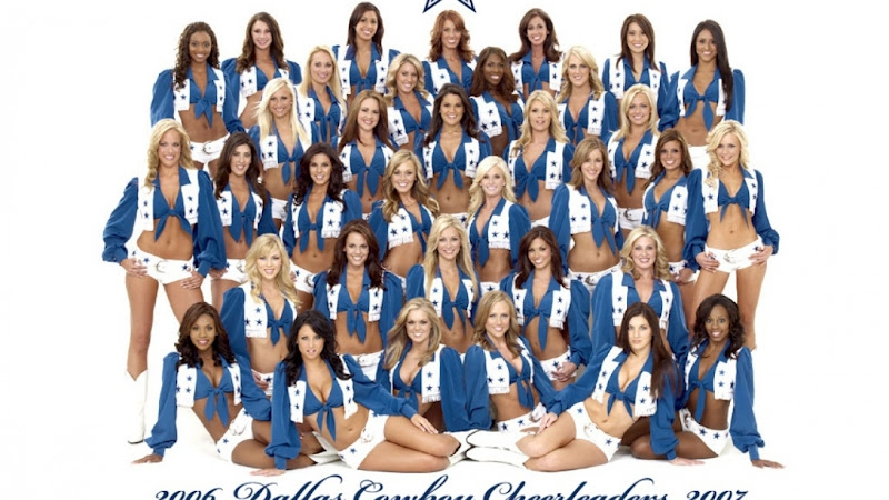 dallas cowboys coloring pages - cheerleaders wallpapers