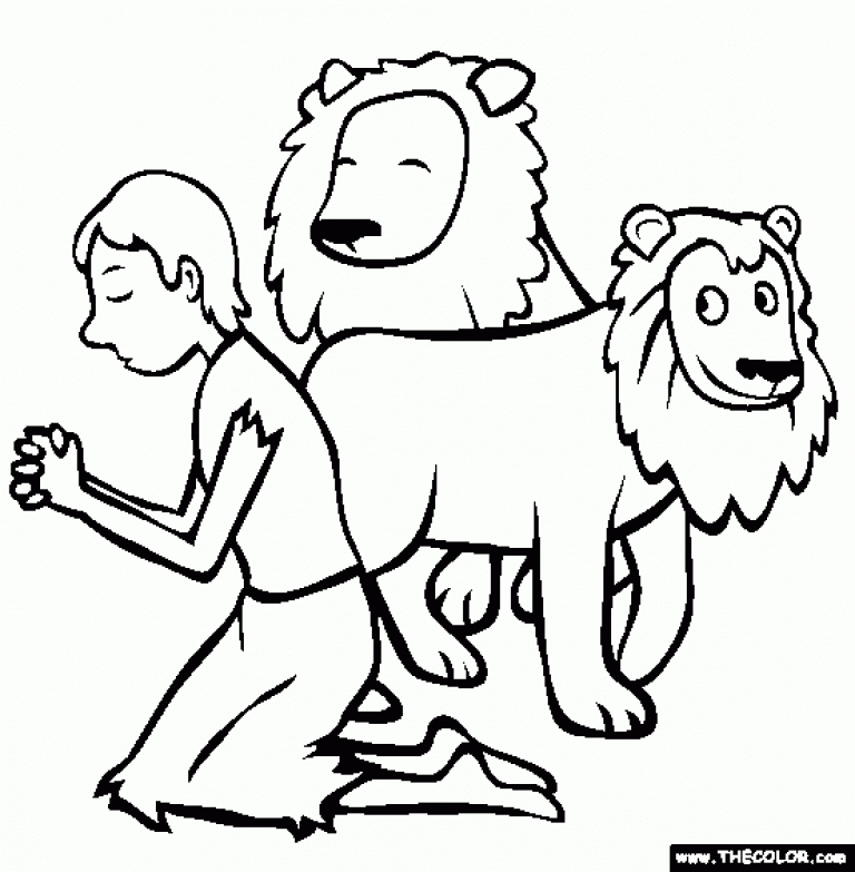 daniel in the lion's den coloring page - high resolution coloring daniel and the lions den coloring pages with daniel and the lions den coloring pages daniel in the lions den