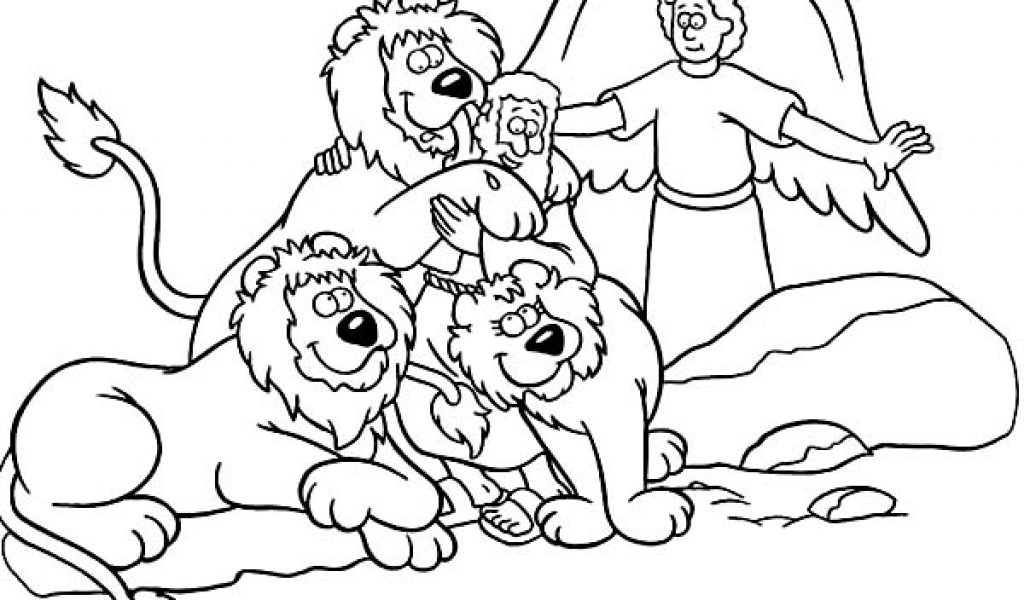 daniel in the lion's den coloring page - picture coloring daniel and the lions den coloring pages for daniel in the lions den coloring page ziho coloring