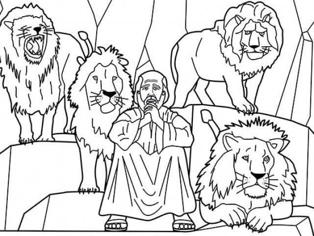 daniel in the lion's den coloring page - print coloring daniel and the lions den coloring pages about daniel and the lions den coloring pages daniel in the lions den