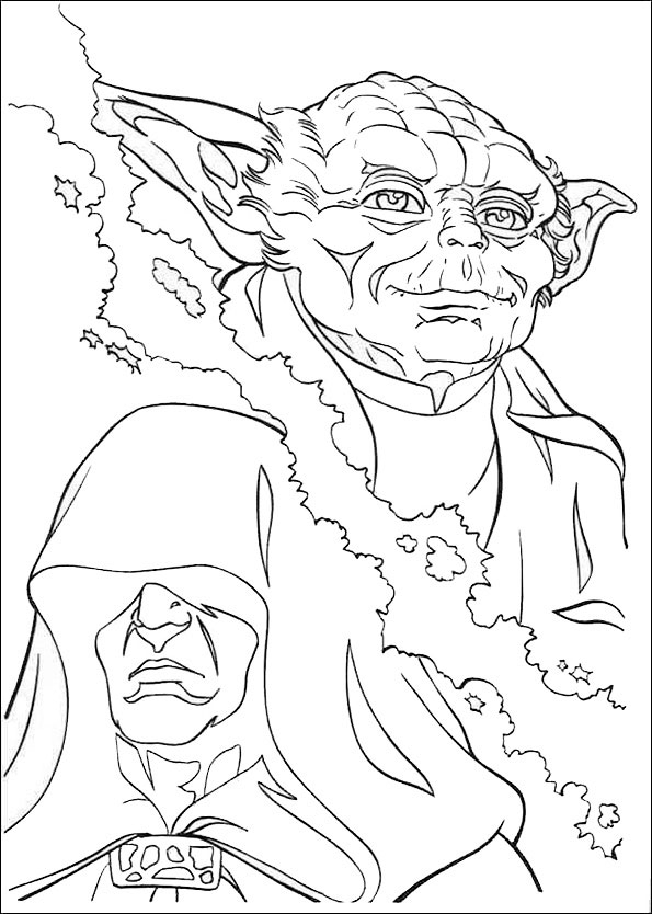 darth maul coloring page - star wars 23